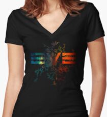 Eve Online Women's Fitted V-Neck T-Shirt