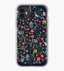 Flying Around in the Garden iPhone Case