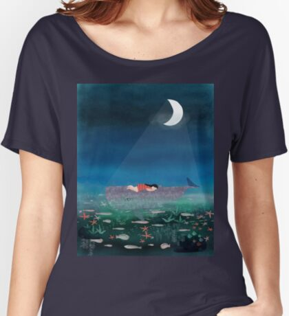 Dream With The Whale Relaxed Fit T-Shirt