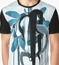 Wet Ink Graphic T-Shirt