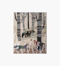 Forest In Sweater Art Board
