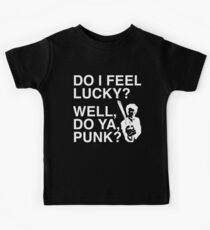 Do I feel Lucky? Well, do ya, Punk? | Dirty Harry | Movie Quote Kids Clothes