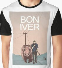 bon iver -  American indie folk Graphic T-Shirt