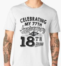 Funny 95th Birthday Celebration Gag Gift 95 Year Old Men's Premium T-Shirt
