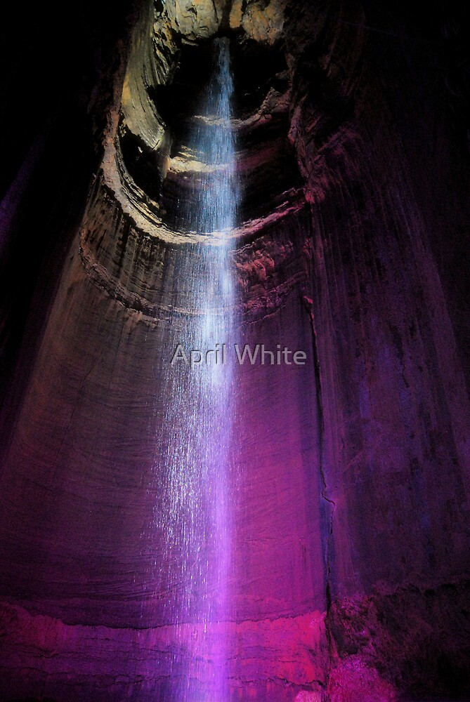 Ruby Falls - Chattanooga, TN by April White