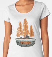 bon iver -  indie folk Women's Premium T-Shirt