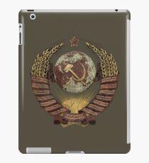 USSR Vintage Coat of Arms V02 iPad Case/Skin