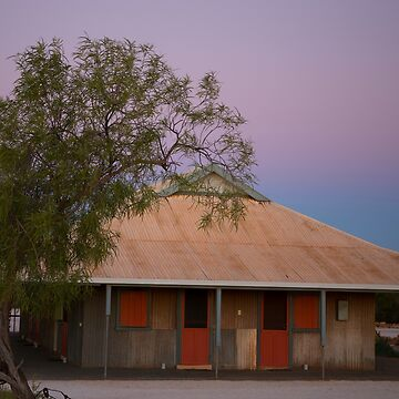 Outback Shearers Quarters at Sunrise by yallmia