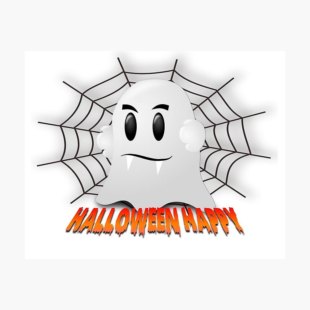 Happy Halloween-Geist Fotodruck