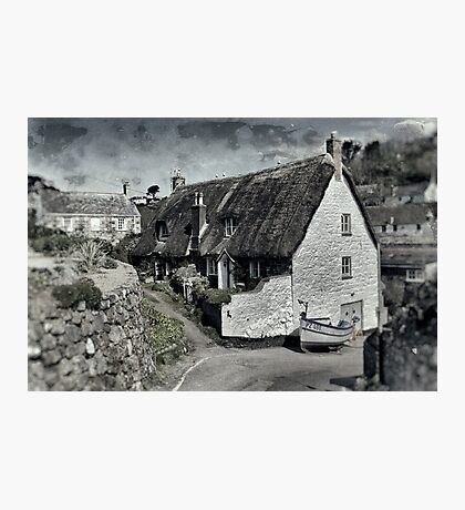 Cadgwith High Street Photographic Print