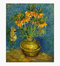 """Van Gogh """"Imperial Fritillaries in a Copper Vase"""", 1887 Photographic Print"""