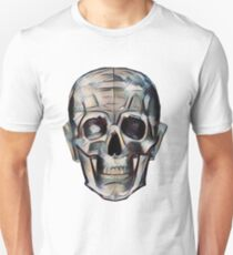 Peach Pop Loner Skull T-Shirt