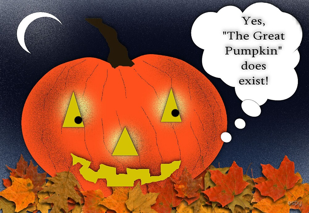 The Great Pumpkin by espy