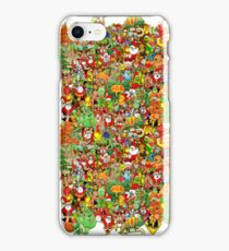 In Christmas Melt into the Crowd and Enjoy iPhone Case/Skin