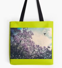 Fly high green  Tote Bag