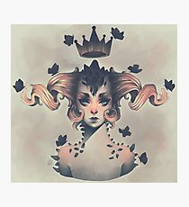 Butterfly Queen Photographic Print