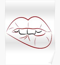 Sexy Lippen Poster