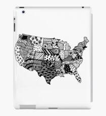 United States Zentangle! iPad Case/Skin
