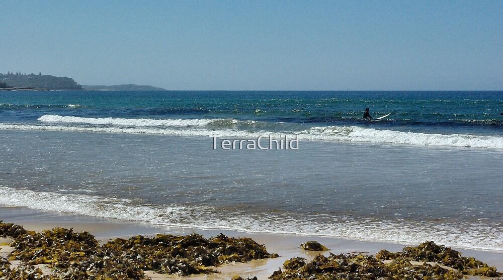 Sittin' In The Surf by TerraChild