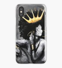 Naturally Queen V iPhone Case/Skin