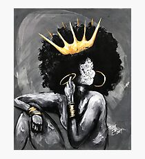 Naturally Queen V Photographic Print