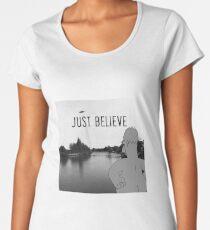 Just believe – Homer Women's Premium T-Shirt