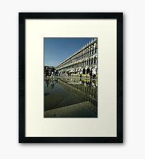 st marcos square Framed Print