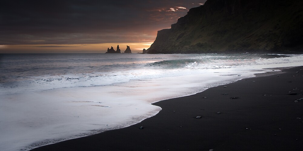 Reynisdrangar (Iceland) by Phil Bain