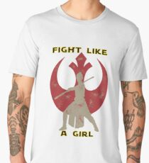 Fight like a girl - Rey Men's Premium T-Shirt