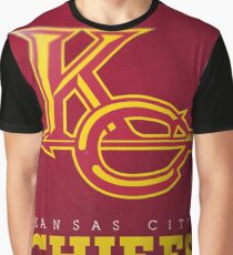 Kansas City Chiefs Print Graphic T-Shirt