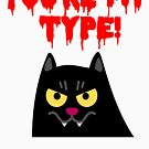 Cute Halloween Vampire Cat for Babies and Kids! by Banshee-Apps