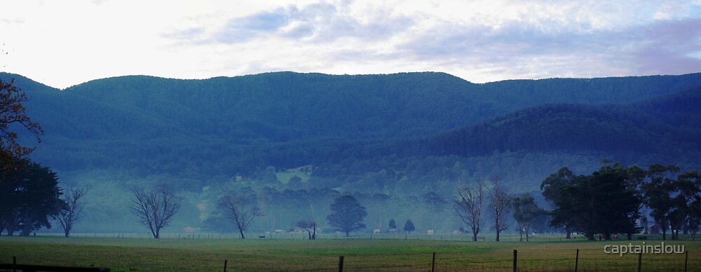 Panormaic view near Yarra Junction by captainslow