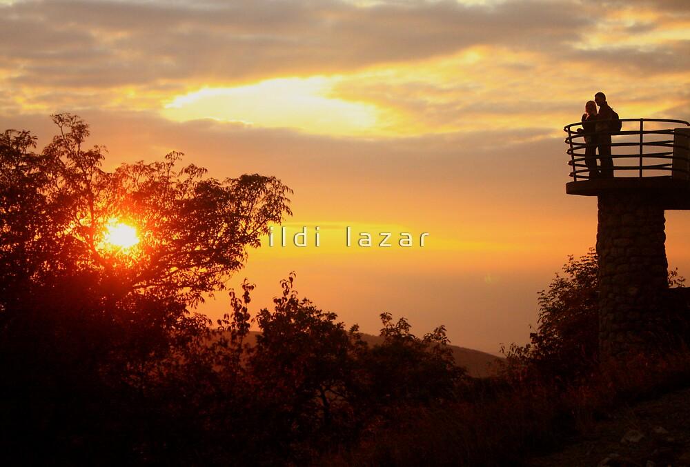 Amorous sunset by i l d i    l a z a r