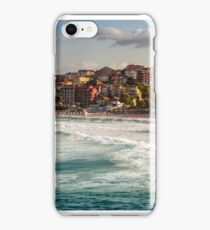 evening waves near the shore of resort town iPhone Case/Skin
