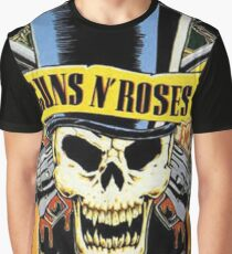 Guns & Roses CUSTOM Print Graphic T-Shirt