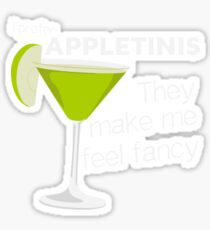 I don't drink beer, I prefer Appletinis Sticker
