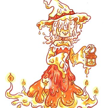 Candle Witch by Sol-Domino