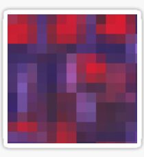 colorful squares Sticker