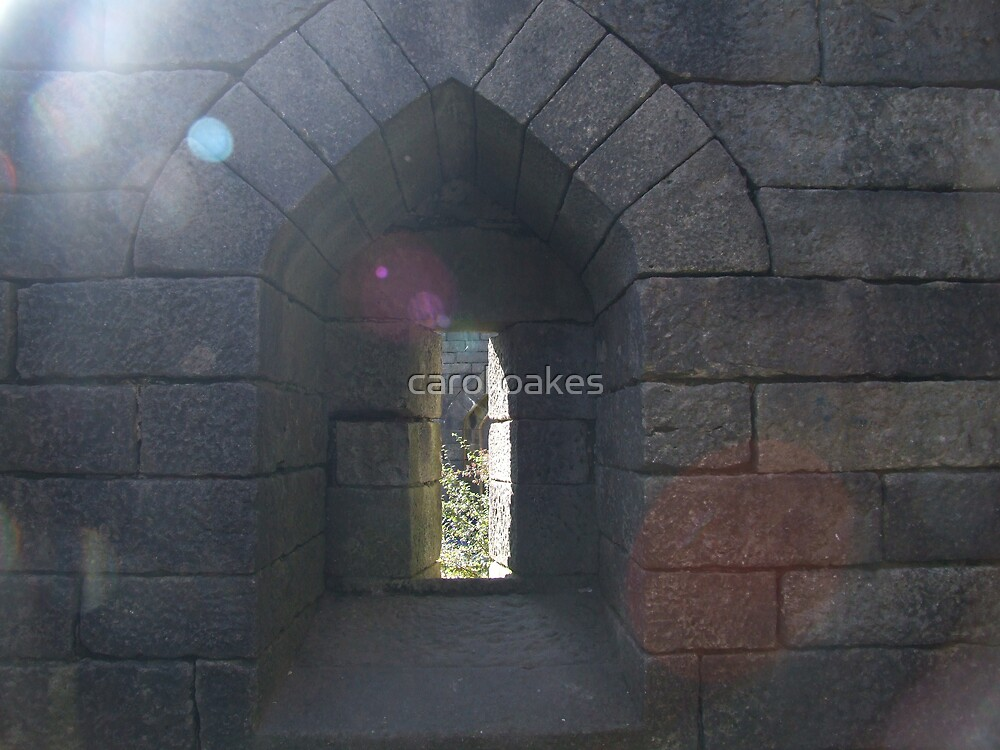 and through the arched window???? by carol oakes