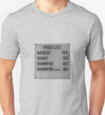 price list T-Shirt