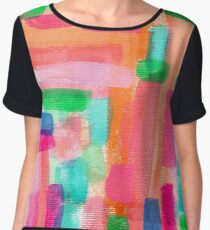 WELCOME TO MY FANTASY Women's Chiffon Top