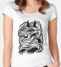 Mysterious Women's Fitted Scoop T-Shirt