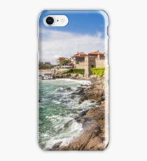 steps to the rocky shore from the old town iPhone Case/Skin