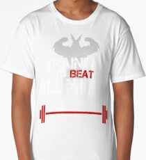 TRAINING TO BEAT ALL MIGHT Long T-Shirt