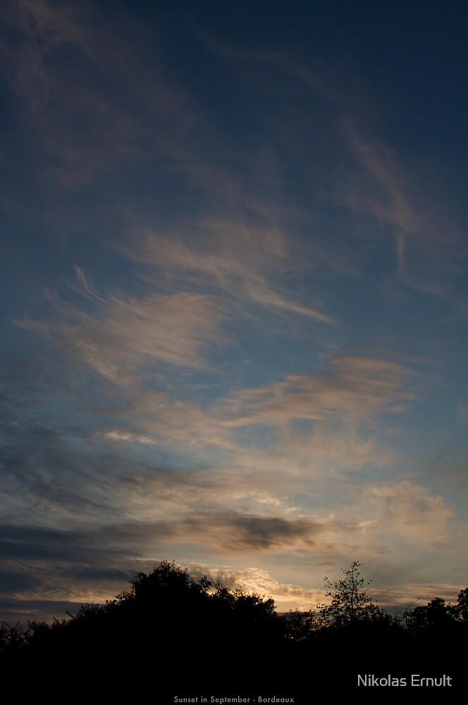 Sunset in September by Nikolas Ernult