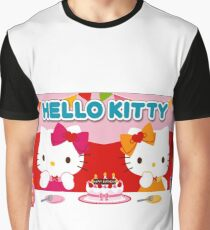 Hello Kitty Happy Birthday Graphic T-Shirt
