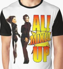 Pow Wow It's All Mixed Up Gayle & Gillian Blakeney (The Twins)  Graphic T-Shirt