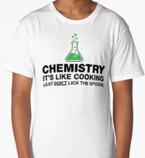 Funny Chemistry, Science Humor Long T-Shirt