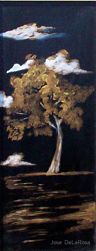 Metallic Tree by Jose  DeLaRosa