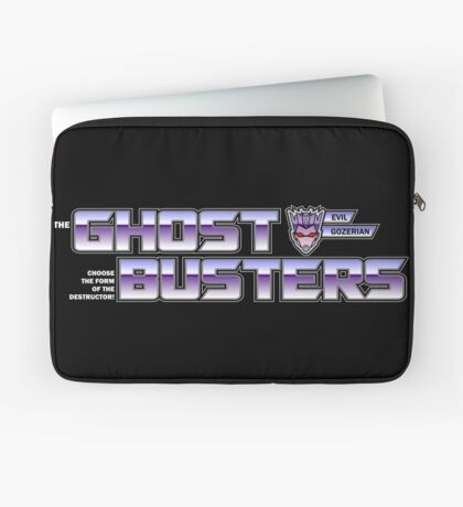 TF Ghostbusters (Choose The Form) Blk Laptop Sleeve